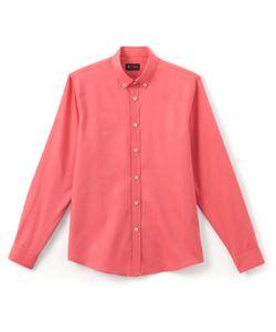 R édition | Рубашка Oxford Прямого Покроя 100 Хлопок