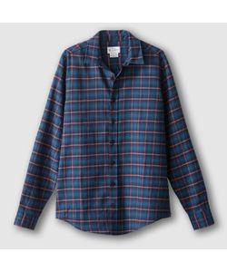 R édition | Рубашка Прямого Покроя С Длинными Рукавами 100 Хлопок