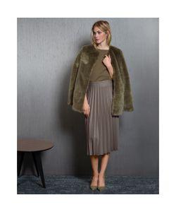 SOFT GREY | Пальто Из Искусственного Меха