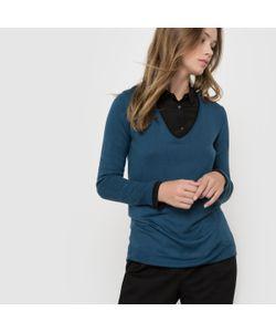 R essentiel | Пуловер С V-Образным Вырезом Из Смешанной Ткани С Шерстью