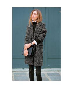 SOFT GREY | Пальто 40 Шерсти