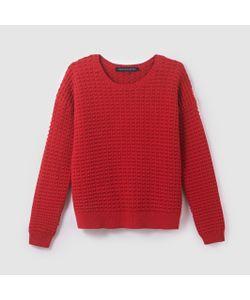 French Connection | Пуловер Хлопковый Вязаный Трикотаж