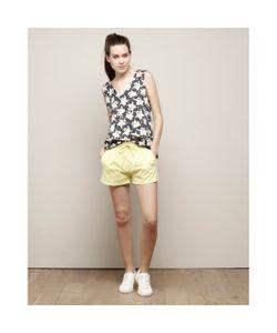 Charlise | Блузка С Цветочным Рисунком И Вырезом Сзади