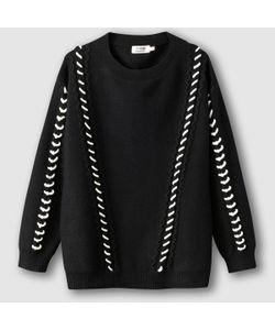Molly Bracken | Пуловер С Круглым Вырезом И Контрастным Рисунком