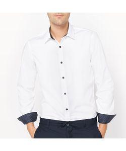 R édition | Рубашка Облегающая С Рисунком Длинные Рукава
