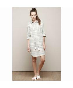 Charlise | Платье-Рубашка В Полоску С Завязками На Поясе
