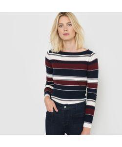 R essentiel | Пуловер В Полоску Из Трикотажа С Добавлением Шерсти