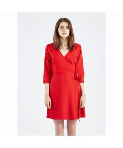 Compania Fantastica | Платье С Запахом Vestido Rojo Maqi