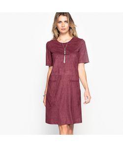 ANNE WEYBURN | Платье Из Оригинальной Искусственной Замши