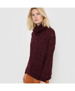 R essentiel | Пуловер-Водолазка Трикотаж С Узором Косы Шерсть/Мохер