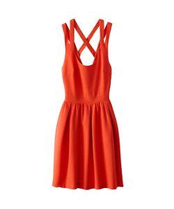 See U Soon | Платье С Перекрещивающимися Бретелями И Открытой Спинкой