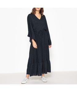 VALERIE KHALFON | Платье Длинное С V-Образным Вырезом Ulisse