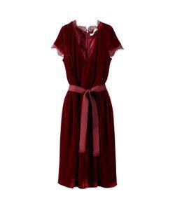 MADEMOISELLE R | Платье Расклешенное Средней Длины Однотонное