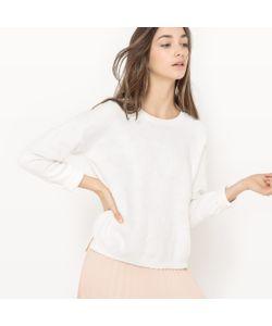 Suncoo   Пуловер С Круглым Вырезом Вышивкой И Кисточками