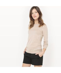 R essentiel   Пуловер С Круглым Вырезом Из Биохлопка