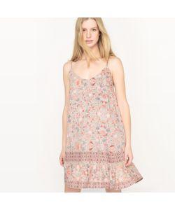 See U Soon | Платье На Тонких Бретелях С Цветочным Рисунком