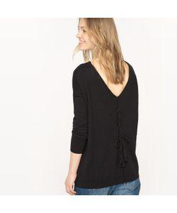 R édition | Пуловер С Круглым Вырезом И Шнуровкой Сзади