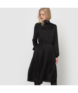 atelier R | Платье Плиссированное С Длинными Рукавами