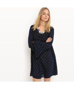 Vero Moda | Платье Расклешенное С Рукавом-Пагода