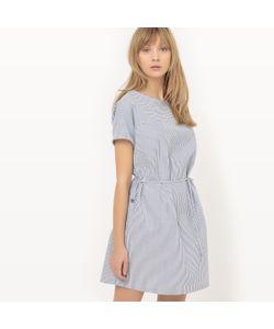 R essentiel | Платье Прямое В Полоску