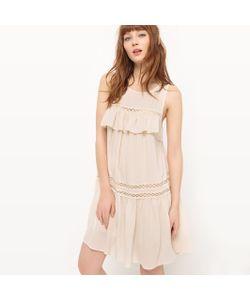 See U Soon | Платье На Бретелях С Воланами И Открытой Спинкой