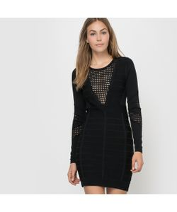 French Connection | Платье Ажурное С Длинными Рукавами Duo Danni Knits Ls Rdnk Dress
