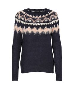 Vero Moda   Пуловер Из Плотного Трикотажа С Круглым Вырезом