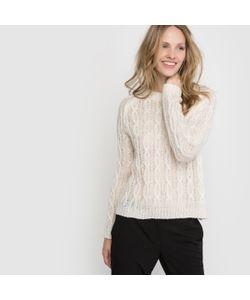 R édition | Пуловер С Узором Косы