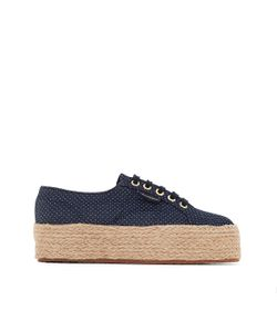 Superga | Кеды На Танкетке 2790 Fabric Shirtropew