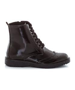 R édition | Ботинки На Шнуровке