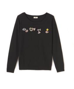 Molly Bracken | Пуловер С Длинными Рукавами И Вышитым Рисунком