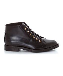 SOFT GREY | Ботинки Кожаные