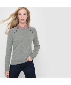 R essentiel | Пуловер С Пуговицами На Проймах 50 Шерсти