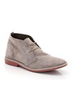 SOFT GREY | Ботинки Из Замши