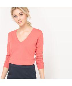 R édition | Пуловер Базовый С V-Образным Вырезом