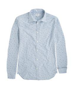 Pepe Jeans | Рубашка Из Хлопка Darrick С Рисунком Облегающий Покрой