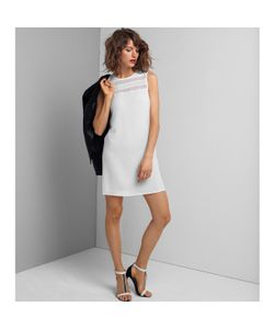 R essentiel | Платье Прямого Покроя С Прозрачным Верхом Без Рукавов