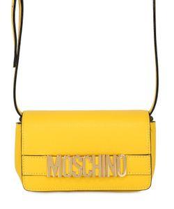 Moschino | Кожаная Сумка С Логотипом