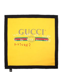 Gucci | Шёлковый Шарф С Принтом Future