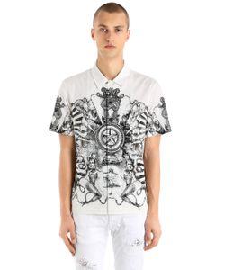 Just Cavalli | Рубашка Из Лёгкого Стретч Канваса