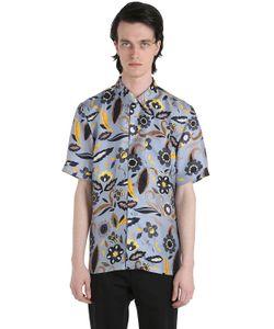 Fendi | Рубашка Из Шёлка С Принтом John Booth Artwork