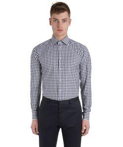 Eton | Рубашка Из Хлопковой Саржи С Принтом
