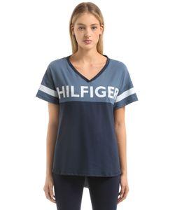 Tommy Hilfiger | Футболка Из Хлопкового Джерси С Принтом Логотипа
