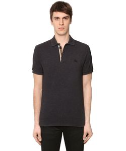 Burberry | Cotton Piqué Polo W Check Placket