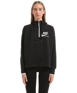 Nike | Полухлопковый Свитшот С Капюшоном