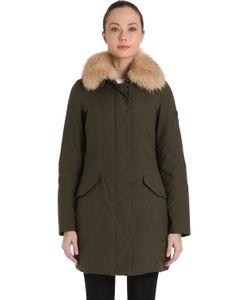 Peuterey | Solasca Satin Down Jacket W Fur Collar