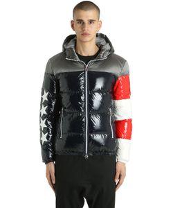Invicta   Куртка Usa Flag Из Блестящего Нейлона