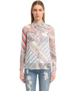 Tommy Hilfiger | Блуза Gigi Hadid Из Шёлкового Шифона С Принтом