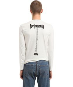 VETEMENTS | Футболка Hanes Staff Из Джерси
