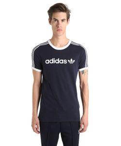 adidas Originals | Футболка Linear Из Хлопкового Джерси